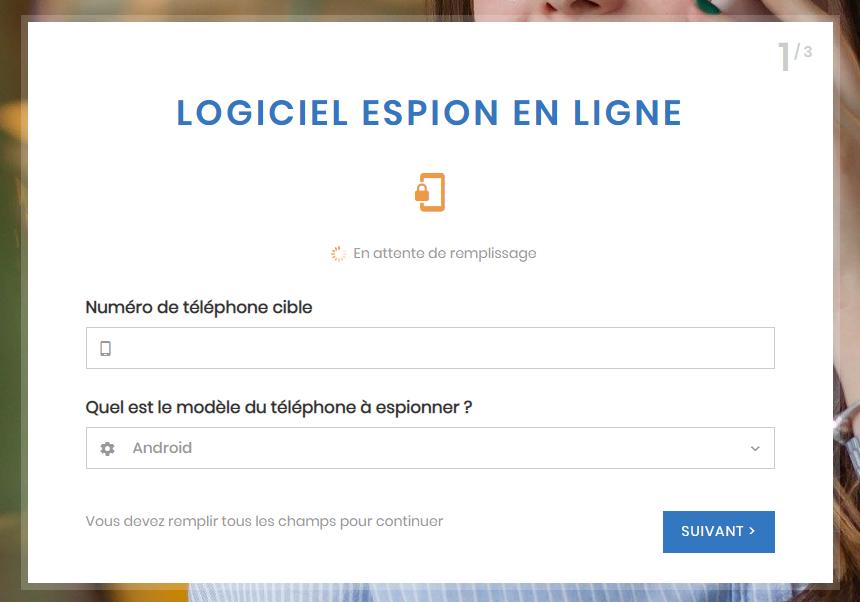 Logiciel espion espionner téléphone en ligne