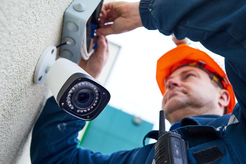 Caméra de surveillance professionnelle