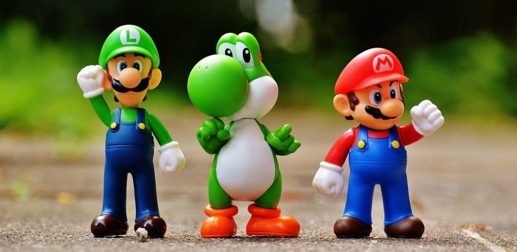 figurines de jeux vidéo